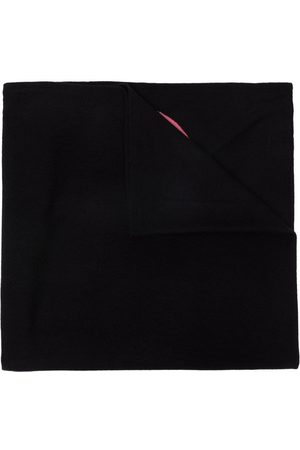 DEE OCLEPPO Letter-intarsia cashmere scarf