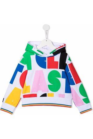 Stella McCartney Boys Hoodies - Graphic-print cotton hoodie