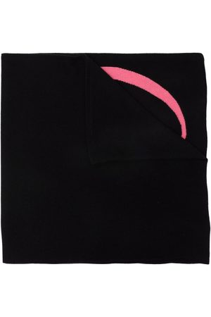 DEE OCLEPPO Women Scarves - Letter-intarsia cashmere scarf