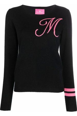 DEE OCLEPPO Women Jumpers - Intarsia-knit letter M jumper
