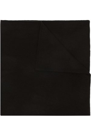 DEE OCLEPPO Letter intarsia-knit cashmere scarf