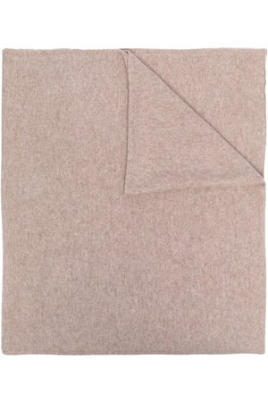 DEE OCLEPPO Letter a cashmere scarf