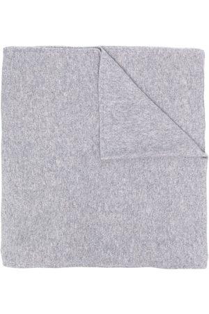 DEE OCLEPPO Women Scarves - Logo-letter cashmere knit scarf