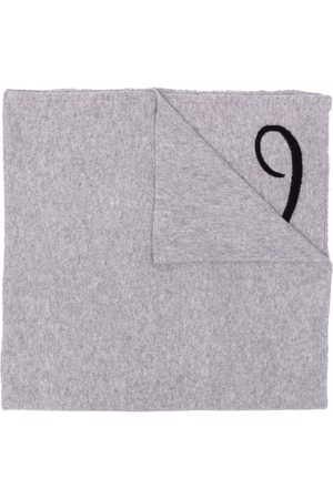 DEE OCLEPPO Letter l cashmere scarf