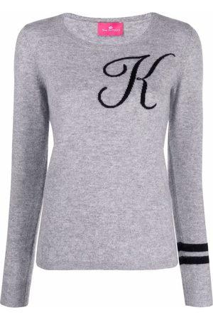 DEE OCLEPPO Women Jumpers - Intarsia-knit letter K jumper