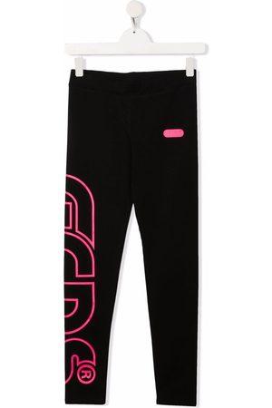 GCDS Girls Leggings - TEEN logo-print track pants