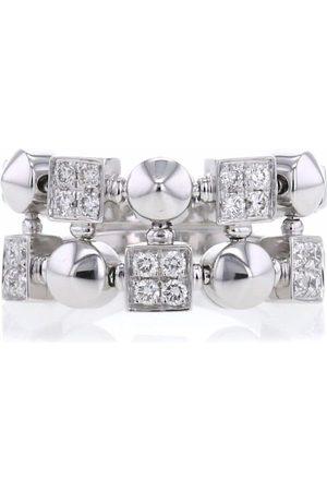 Bvlgari 2000 18kt white gold Lucéa diamond ring