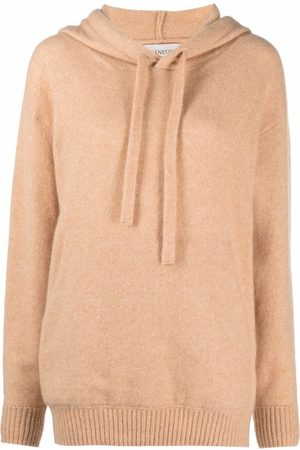 LANEUS Women Jumpers - Knitted pullover hoodie