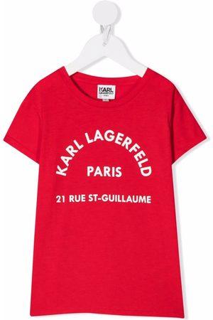 Karl Lagerfeld Logo-print short-sleeve T-shirt