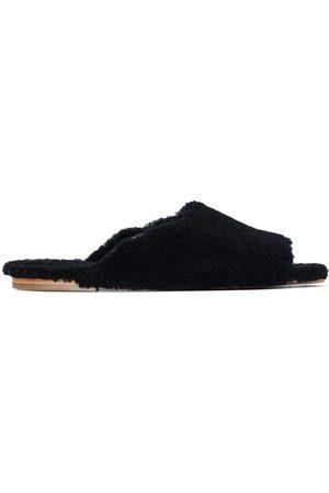 Deiji Studios Women Slippers - Shearling slide slippers