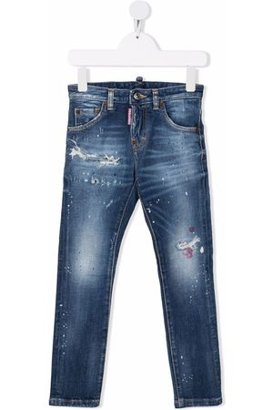 Dsquared2 Boys Jeans - Distressed denim jeans