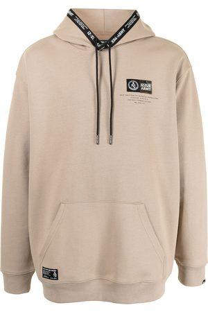 Izzue Slogan print hoodie