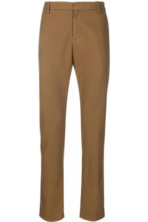 Dondup Cropped tapered chino trousers