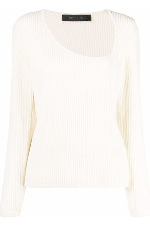 FEDERICA TOSI Women Jumpers - Asymmetric-neckline jumper