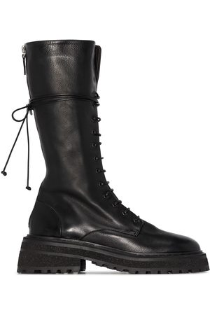 MARSÈLL Women Knee High Boots - Carro lace-up knee boots