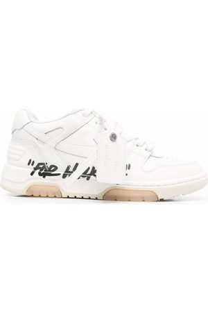 """OFF-WHITE Women Outdoor Shoes - OUT OF OFFICE """"FOR WALKING"""" BLACK"""