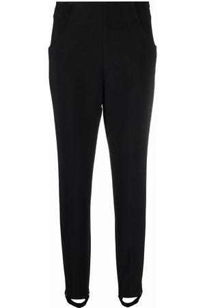 FEDERICA TOSI Elasticated foot strap slim trousers