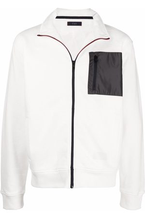 FAY Contrasting chest pocket sports jacket