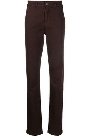 FEDERICA TOSI Women Skinny Pants - Slim-fit cotton trousers