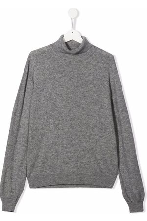 FAY KIDS Boys Jumpers - TEEN roll-neck knitted jumper