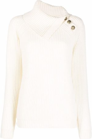P.a.r.o.s.h. Women Jumpers - Liam ribbed-knit jumper