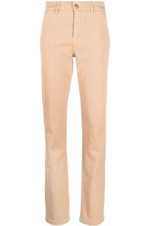 FEDERICA TOSI Women Skinny Pants - Slit-detail slim-cut trousers
