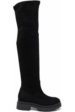P.a.r.o.s.h. Thigh-high suede boots