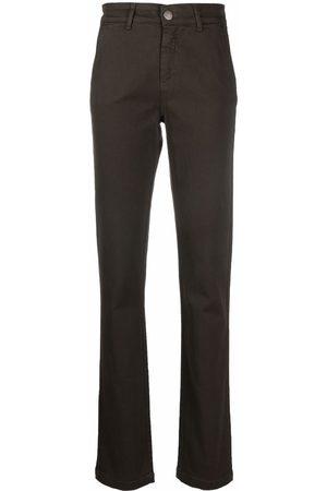 FEDERICA TOSI Slit-detail slim-cut trousers
