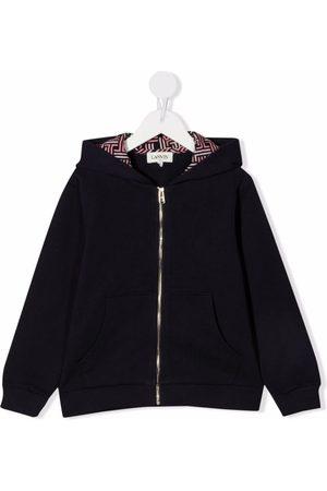 Lanvin Motif print zipped hoodie
