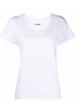 Styland Women Short Sleeve - Round-neck jersey T-shirt