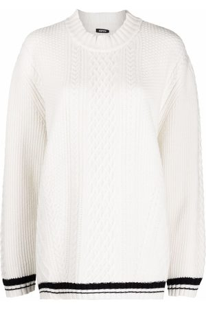 Aspesi Cable-knit oversized jumper