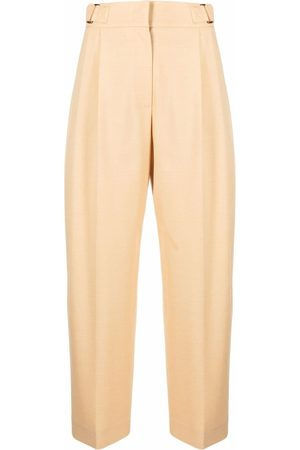 REJINA PYO High-waisted tailored cropped trousers