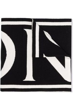 Moncler Girls Scarves - Logo lettering scarf