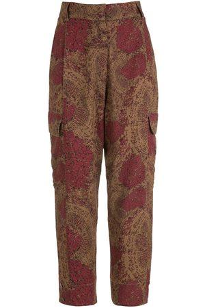 OSKLEN Women Pants - Populus printed trousers