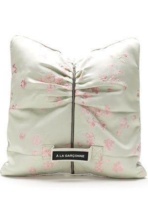 Comme des Garçons Floral cushion clutch