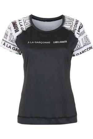 Comme des Garçons X Labellamafia logo-print T-shirt