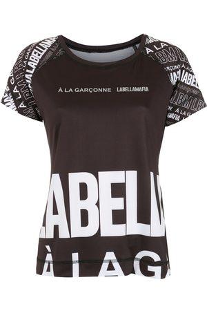 Comme des Garçons Women Short Sleeve - X Labellamafia logo-print T-shirt