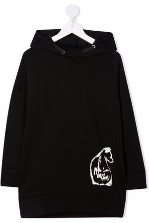 Moncler Boys Hoodies - Logo-print cotton hoodie