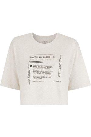 OSKLEN Women Short Sleeve - Respect Our People Eco T-shirt
