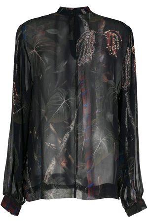 OSKLEN Women Tops - Cipó sheer shirt