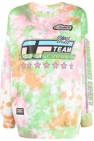 Chiara Ferragni Team tie-dye sweatshirt