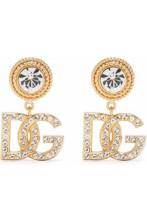 Dolce & Gabbana DG crystal-embellished earrings