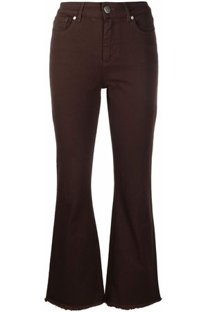 FEDERICA TOSI Women Bootcut & Flares - Cropped flared jeans