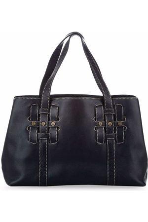 Céline Pre-owned logo studs tote bag