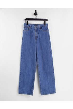 Levi's Women High Waisted - Levi's high waisted straight leg jeans in mid wash