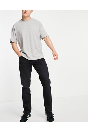 SELECTED Men Straight - Organic cotton blend straight fit jeans in