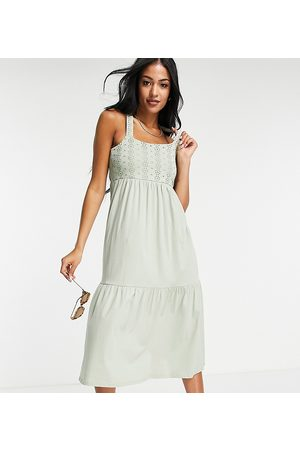 ONLY Women Casual Dresses - Maxi dress with lace detail in