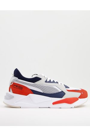 PUMA Men Sneakers - RS-Z College trainers in and red
