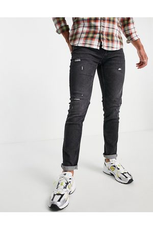 Only & Sons Men Slim - Slim fit jeans in washed