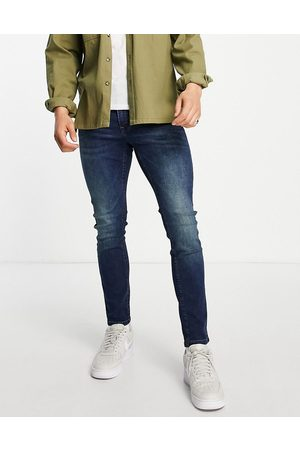 Only & Sons Men Skinny - Skinny fit jeans in midwash